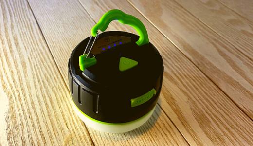 LEDランタン 【USB充電式 +モバイルバッテリー 】初心者キャンパーはこれ2.3個持っていれば良い!