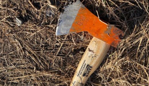 BAHCO(バーコ) 手斧【はじめての薪割り】とりあえずはこれで十分